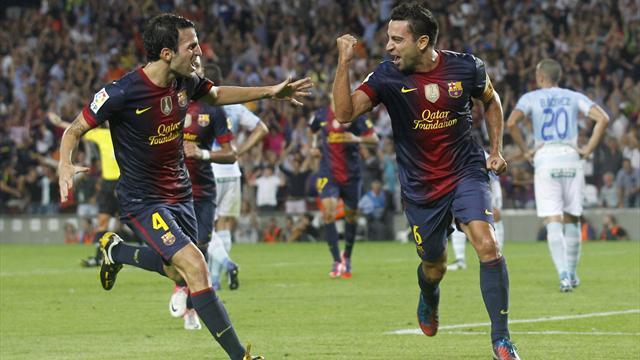 Barcelona leave it late to beat Granada