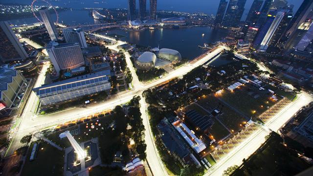 Horarios del Gran Premio Singapur 2017 de Fórmula 1