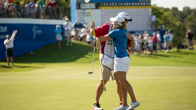 Lewis holds off Thompson to win Navistar Classic