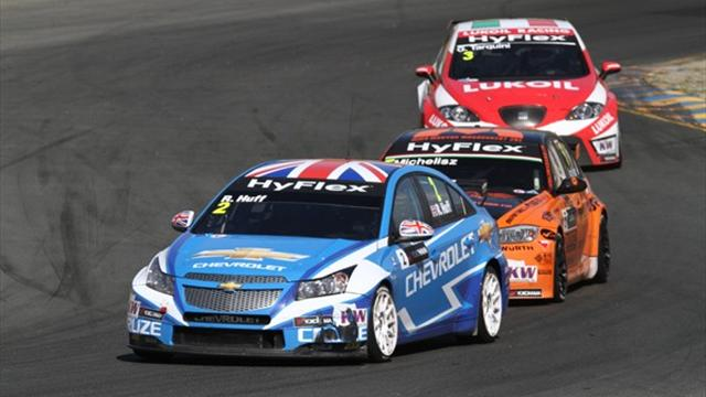 Huff claims crucial WTCC victory