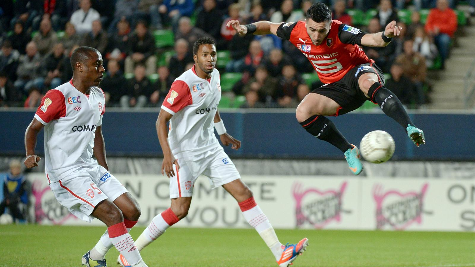 Rennes red colle coupe de la ligue 2012 2013 football eurosport - Coupe de la ligue 2013 14 ...