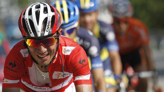 Runner-up Rodriguez dejected after Valverde lets Costa go