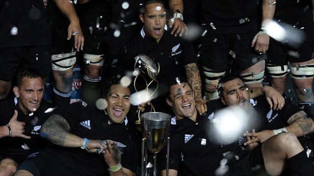 Les All Blacks, première !