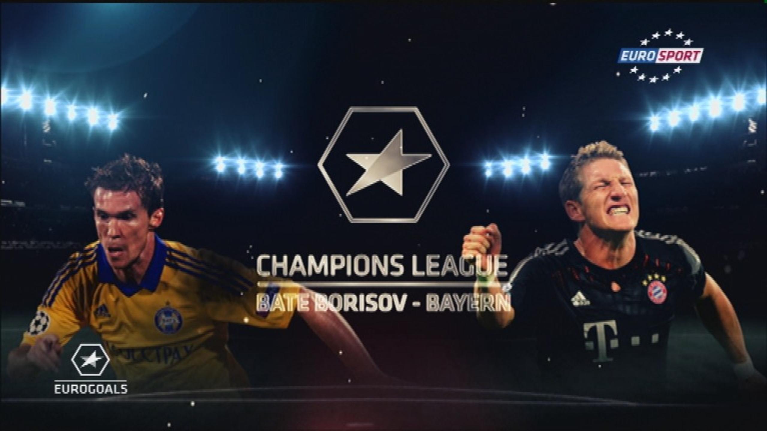 Футбол лига чемпионов бате- бавария