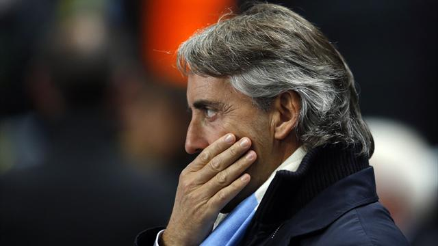 2012 Manchester City manager Roberto Mancini