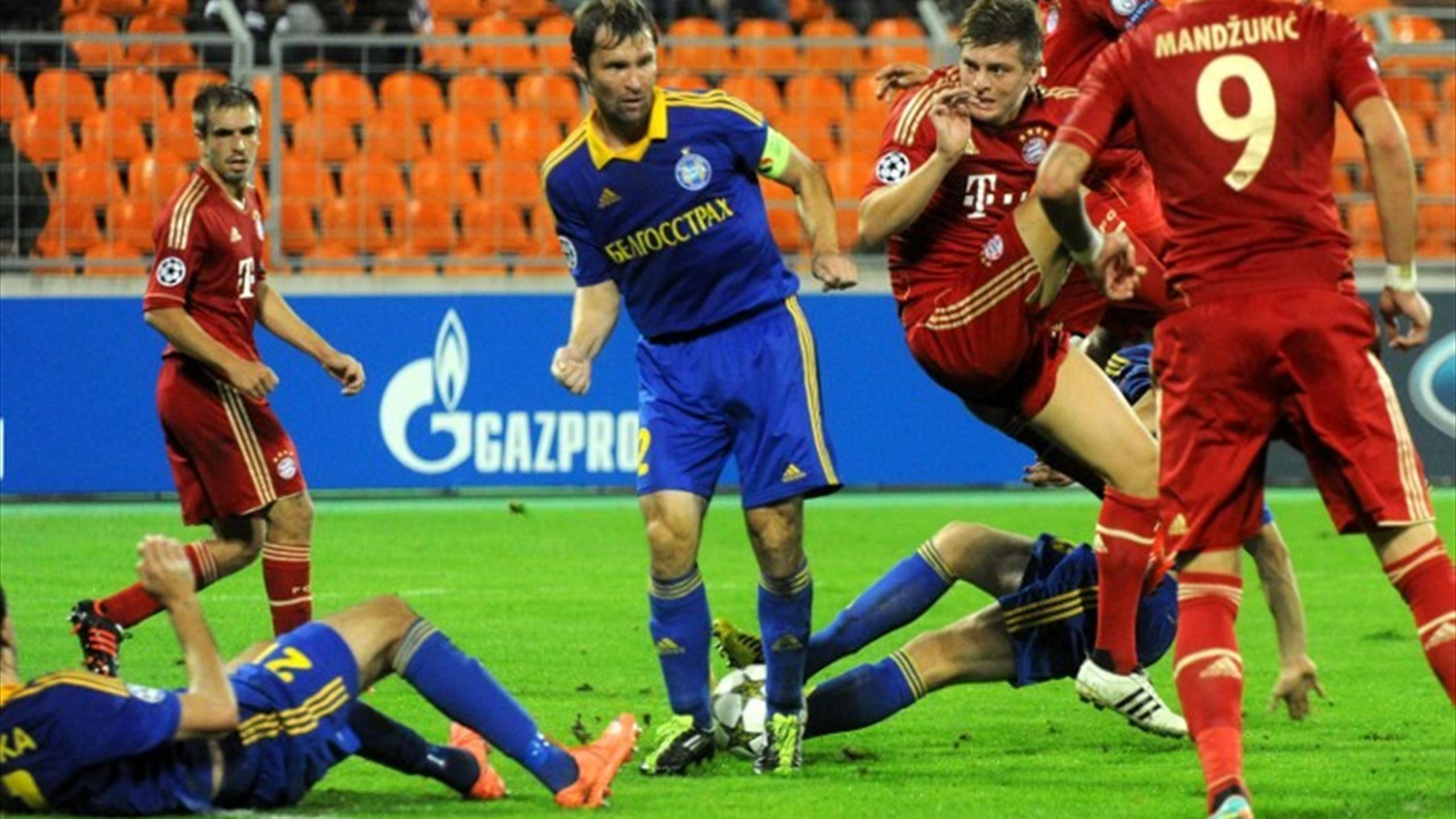 Лига чемпионов футбол 2 матч в 2009году бавария барселона