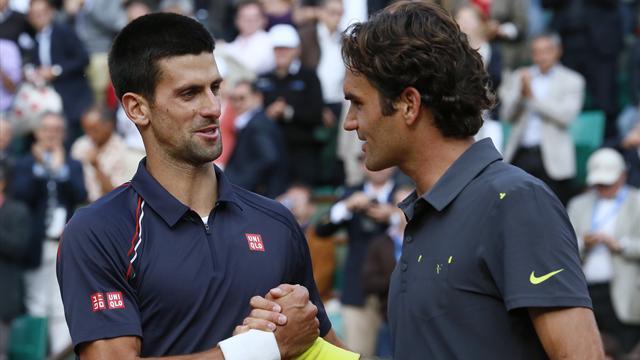 Federer-Djokovic, objectif Une