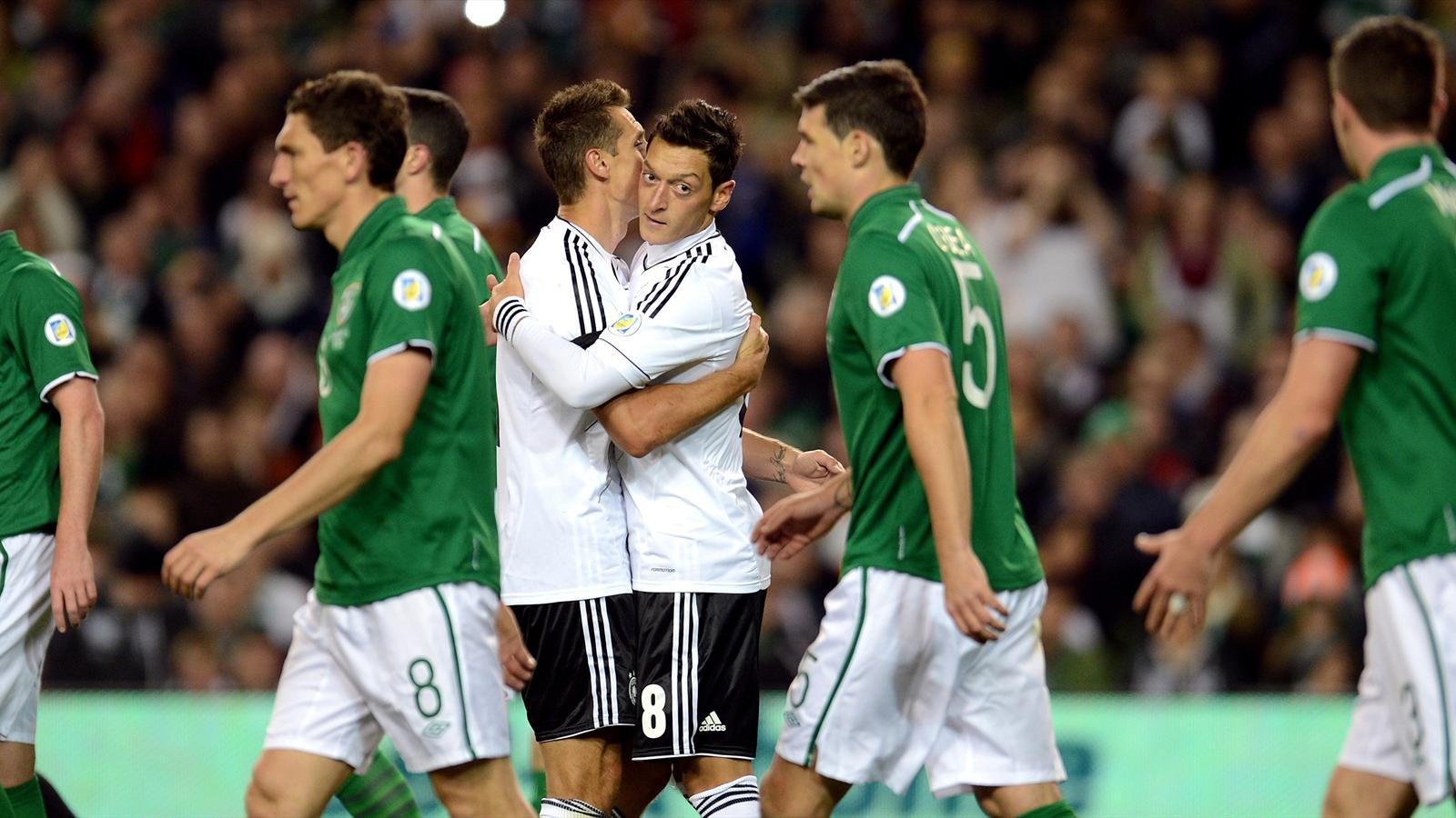 L 39 allemagne pulv rise l 39 eire 1 6 qualif coupe du - Qualification coupe du monde resultat ...