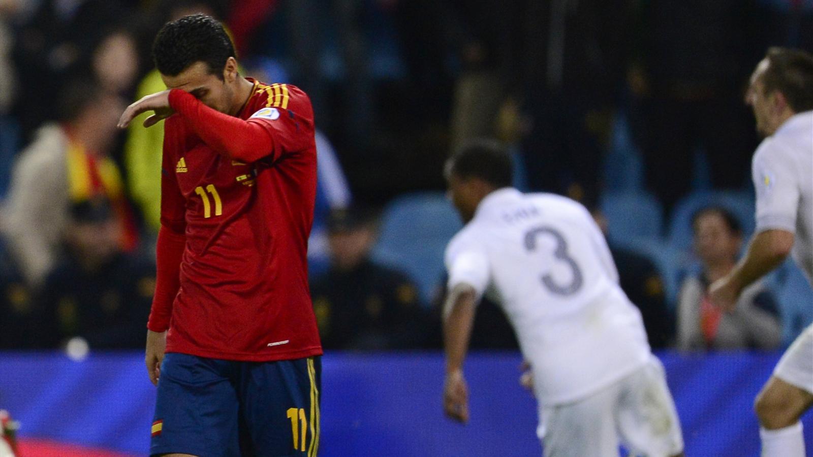 Espagne france 1 1 et l 39 espagne a plong qualif - Classement qualification coupe du monde ...