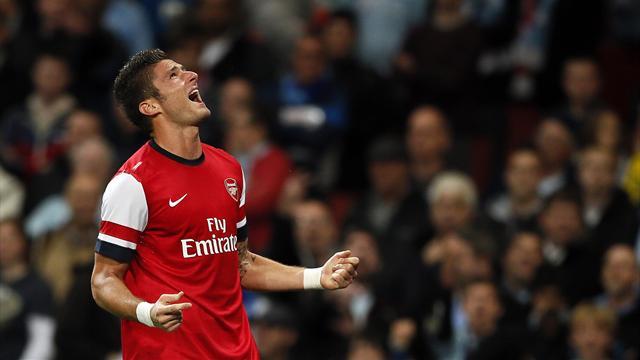 Giroud, une petite éclaircie dans le ciel d'Arsenal