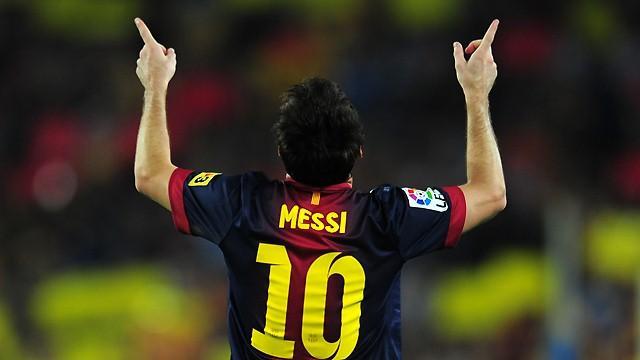 Messi et le Barça à l'honneur