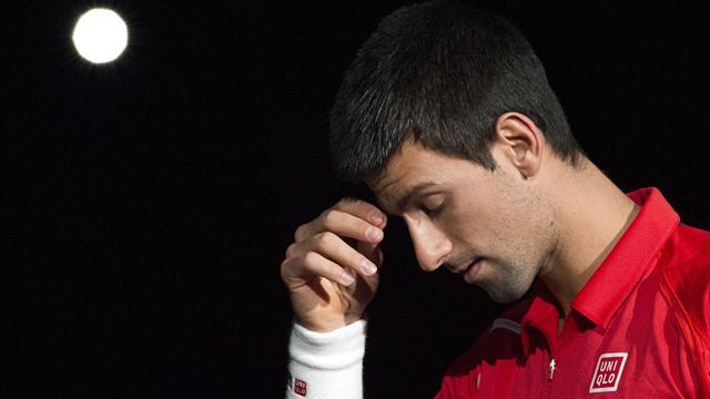 Djokovic au tapis !