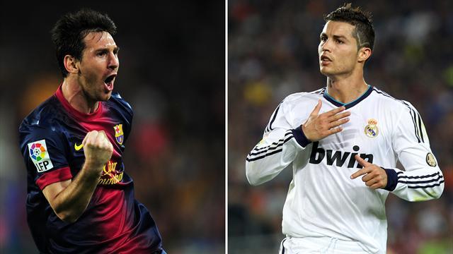 """Ronaldo : """"Messi encore un cran devant Cristiano Ronaldo"""""""