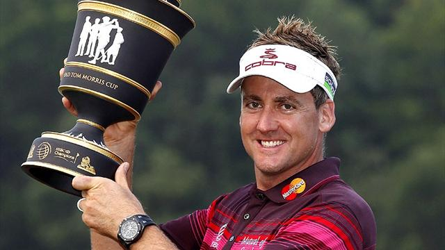 Ian Poulter's car collection - well, he has earned £24 million for hitting a ball