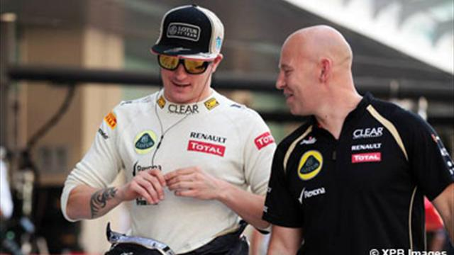 Räikkönen vise le podium