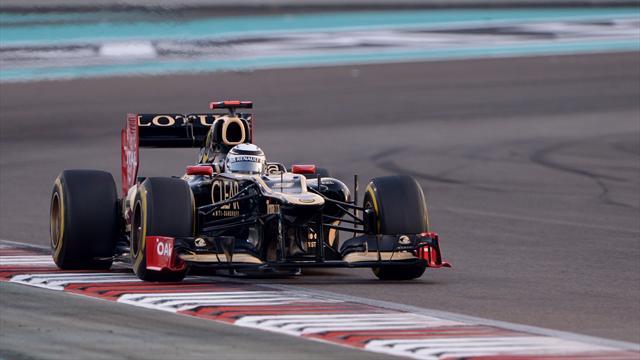 Räikkönen devant les deux cadors