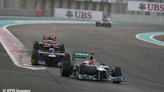 """Schumacher : """"De nouveau victime de malchance"""""""