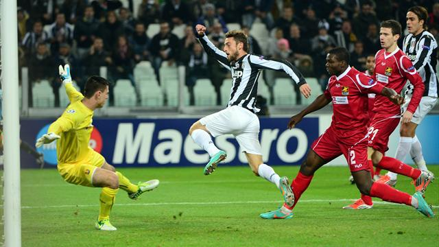 Juventus too good for Nordsjælland