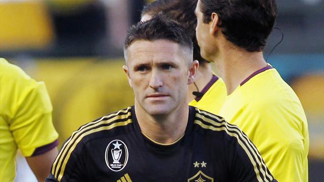 Keane brace sends LA Galaxy to MLS Conference final
