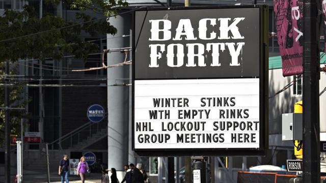 'No progress' in lockout talks between league, players