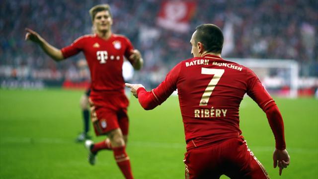 Ribéry guide le Bayern