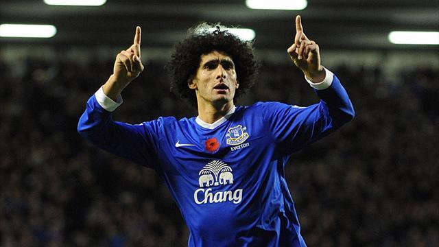 Fellaini inspires Everton to beat Sunderland