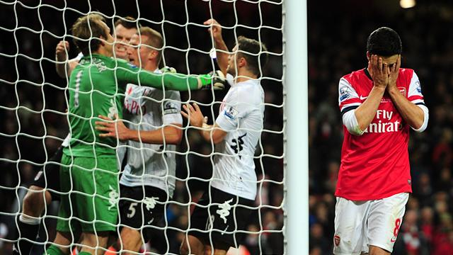 Arsenal's woes continue with dramatic Fulham draw