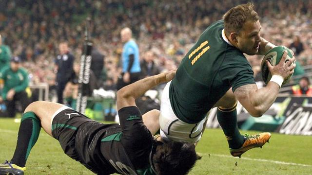 South Africa edge out Ireland