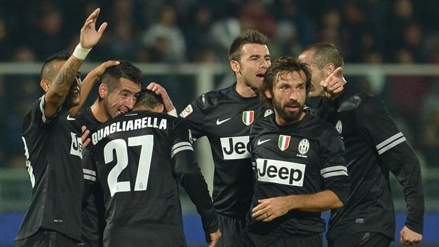 La Juventus ne fait pas dans la dentelle