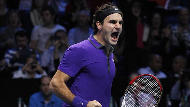Federer croqueur de secondes balles