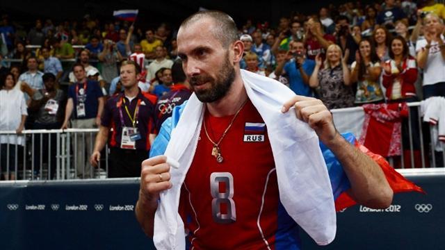 Волейболисты сборной России пробились вполуфинал олимпийского турнира вРио