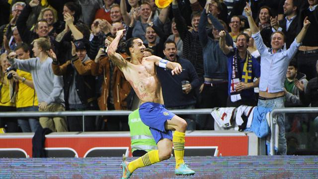 Ibrahimovic 4, Angleterre 2