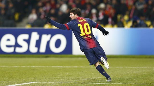 Messi déboule sur Raul