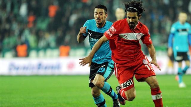 Bursaspor-Antalyaspor / ÖZET