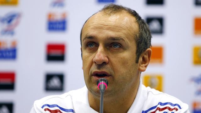"""Saint-André: """"Qu'ils pensent chaque matin à l'équipe de France"""""""