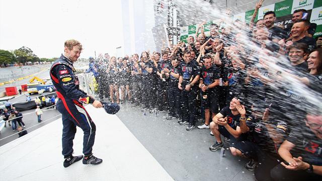 Чемпионский титул может перейти от Феттеля к Алонсо