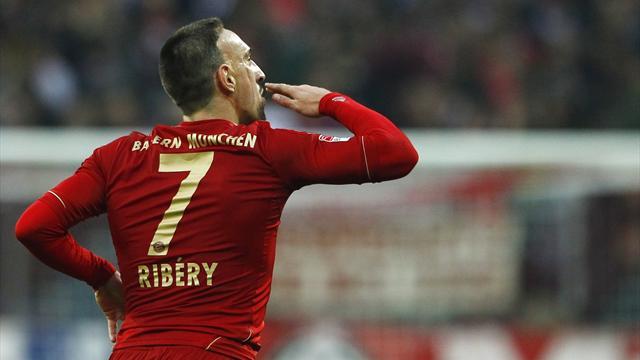 Ribéry agace (encore) les Français