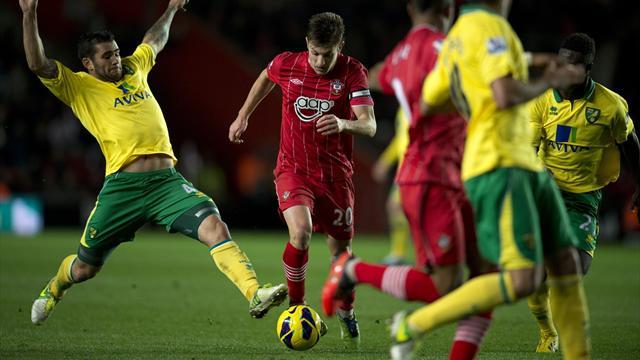 Southampton 1-1 Norwich City