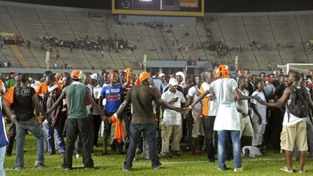 Senegal stadium banned for a year following riots