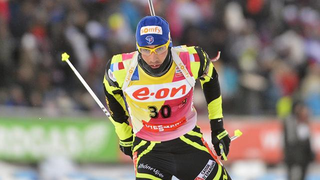 Fourcade descend d'une marche