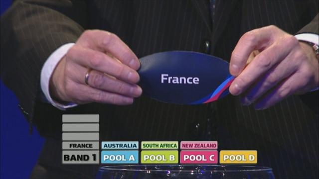 Mondial 2015: L'Angleterre moins gâtée que la France