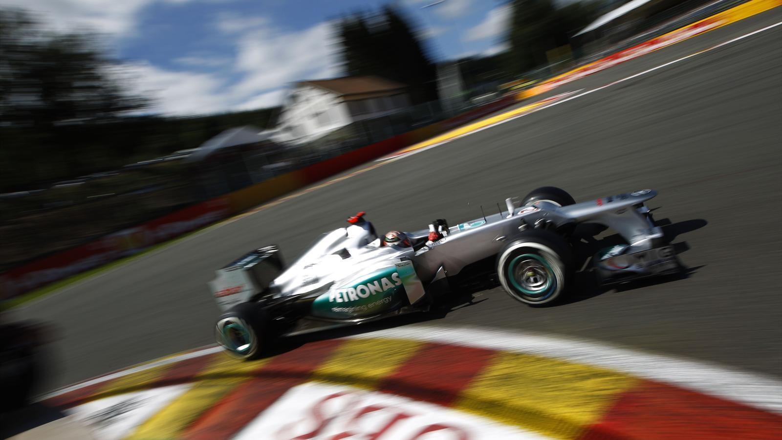Michael schumacher la comp tition est plus serr e saison 2013 formule 1 eurosport - Formule vitesse de coupe ...