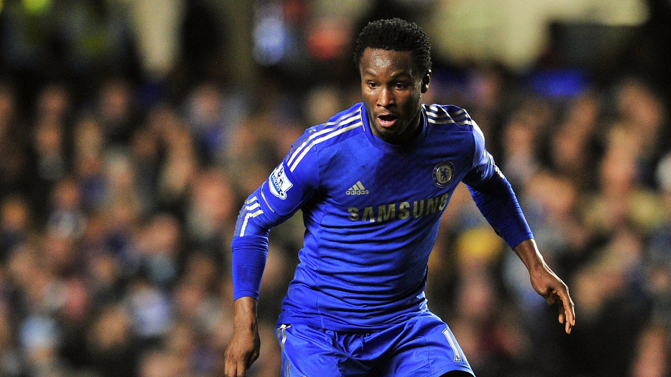 Chelsea's Nigerian midfielder John Obi Mikel (AFP)
