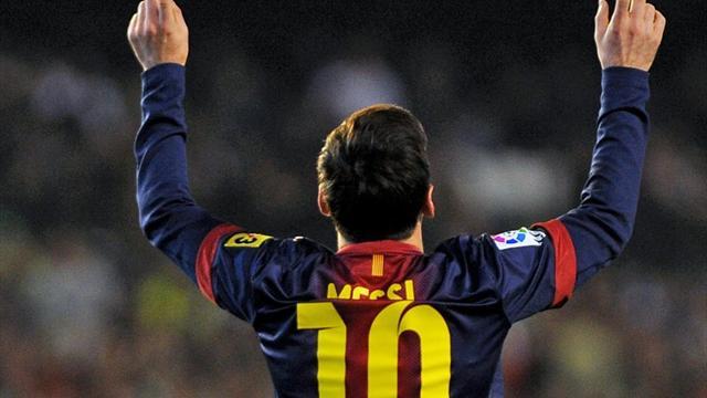 L'autre record de Messi