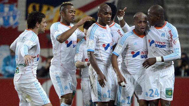 2013 Ligue 1 Marseille OM Ayew Joie