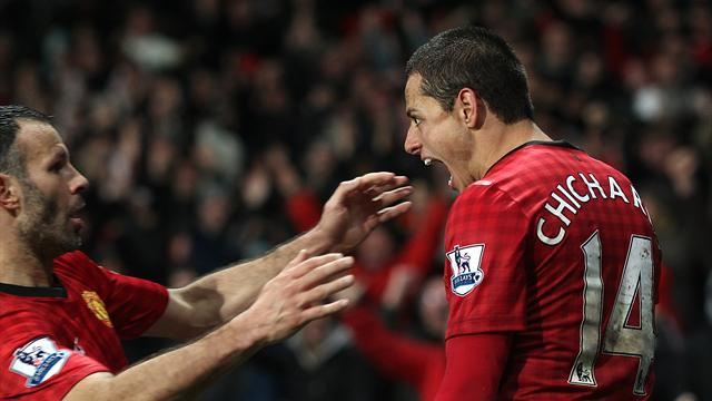 Hernandez gives Manchester United amazing win