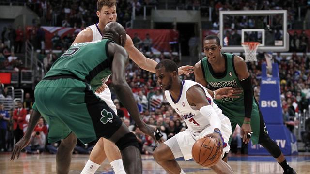 Clippers bully Celtics to extend winning streak