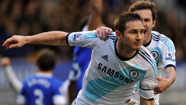 Chelsea end Everton's unbeaten home record