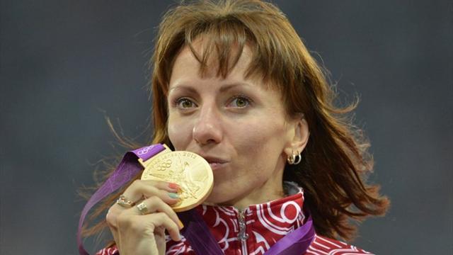 Savinova-Farnosova stripped of London Games 800m gold for doping