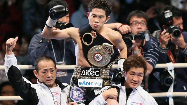 Ioka steps up to win WBA light-fly belt